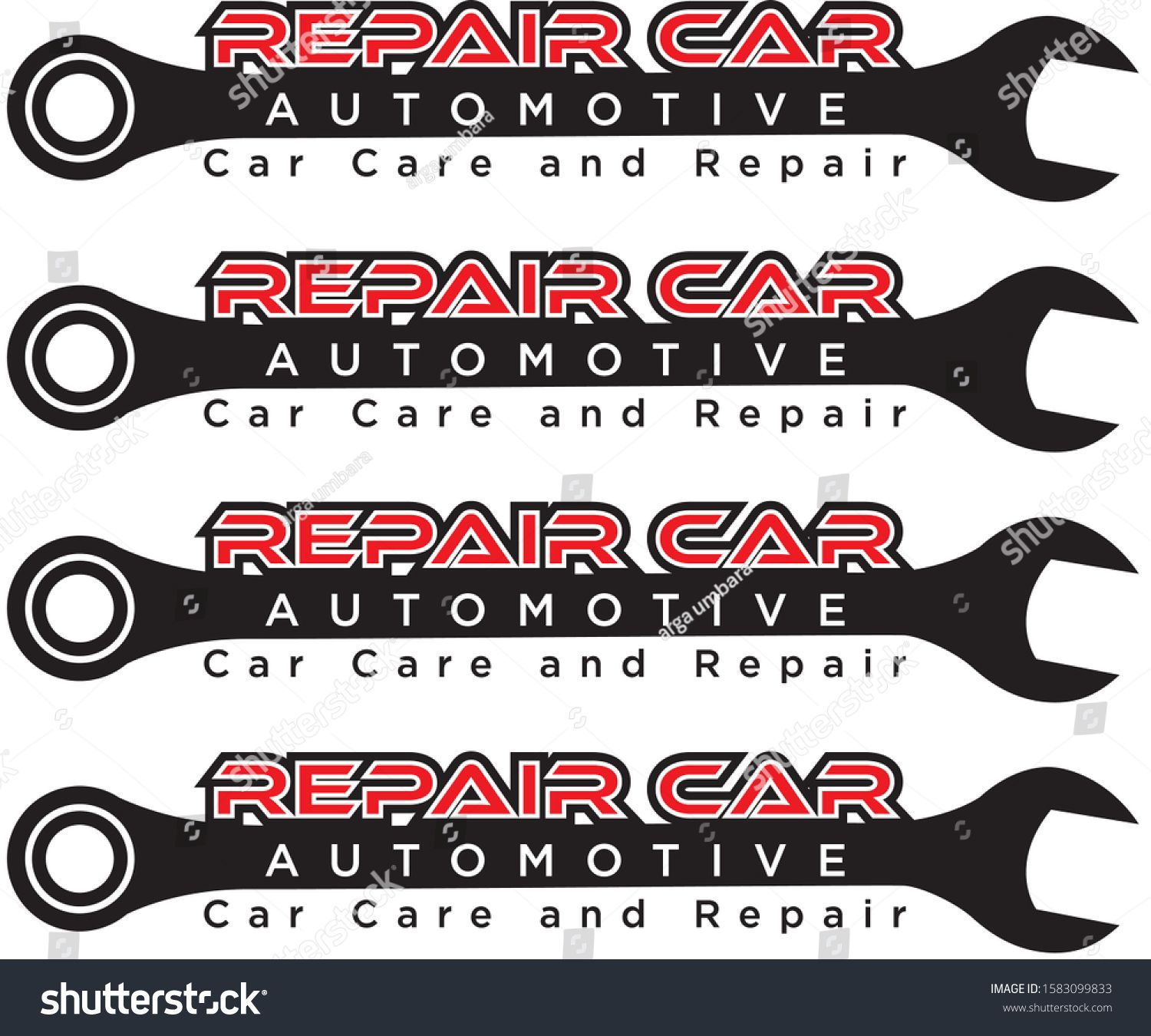 logo repair automotiveAuto repair service logo badge emblem template Key and gear on background of the shield