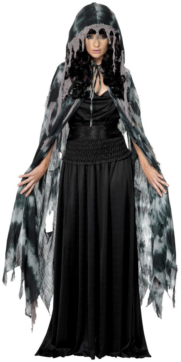gothic manor ghost cape grey we supply a wide variety of halloween costume accessories more detail visit our online store - Halloween Supply Store