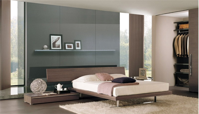 High Tech Bedroom Designs With Platform Bed Residential - High tech bedroom design