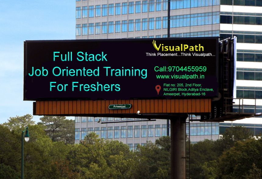 Full Stack Web Development Course at Visualpath boost your