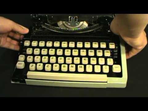 Vintage Royal Signet Manual Typewriter Fixed Problems Royal Signet Manual Typewriter - YouTube