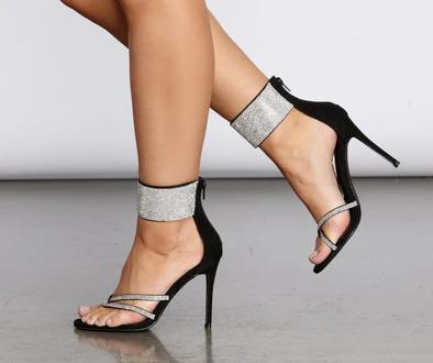Women Heels Aesthetic Heel Sandals For