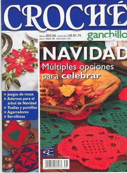 Crochet Ganchillo año 6 Nro 35 - Maria E G - Picasa Web Albums