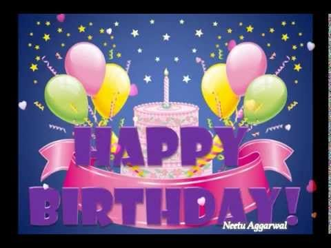 Happy Birthday GreetingsQuotesSmsWishesSayingECard – Happy Birthday Video Greeting Cards