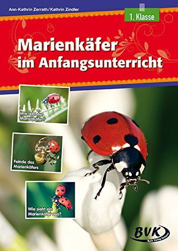 Der Marienkäfer im Anfangsunterricht von Kathrin Zindler http://www.amazon.de/dp/3867406065/ref=cm_sw_r_pi_dp_VeC.ub04TRRWW