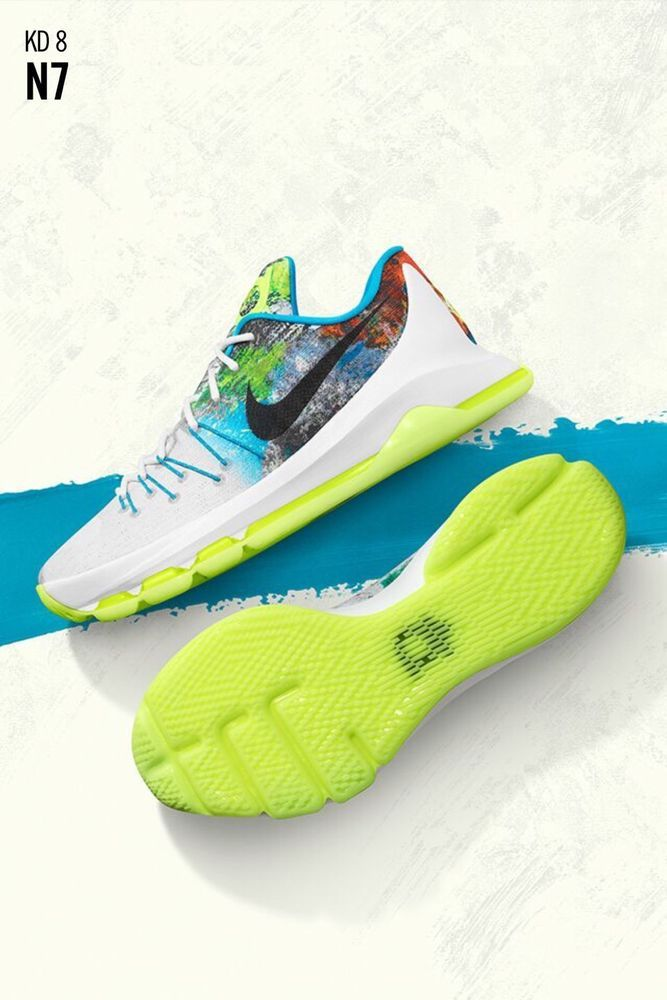 best service 8cedf fa094 Great shoe, better cause. Help Native American and Aboriginal children  while styling your kicks. Nike N7 KD 8 2015 Size 13 Retro Kevin Durant  Native ...