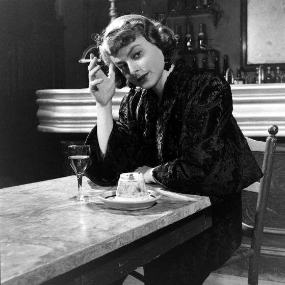 Ingrid Bergman in the 1948 film. <em>Arch of Triumph</em>.