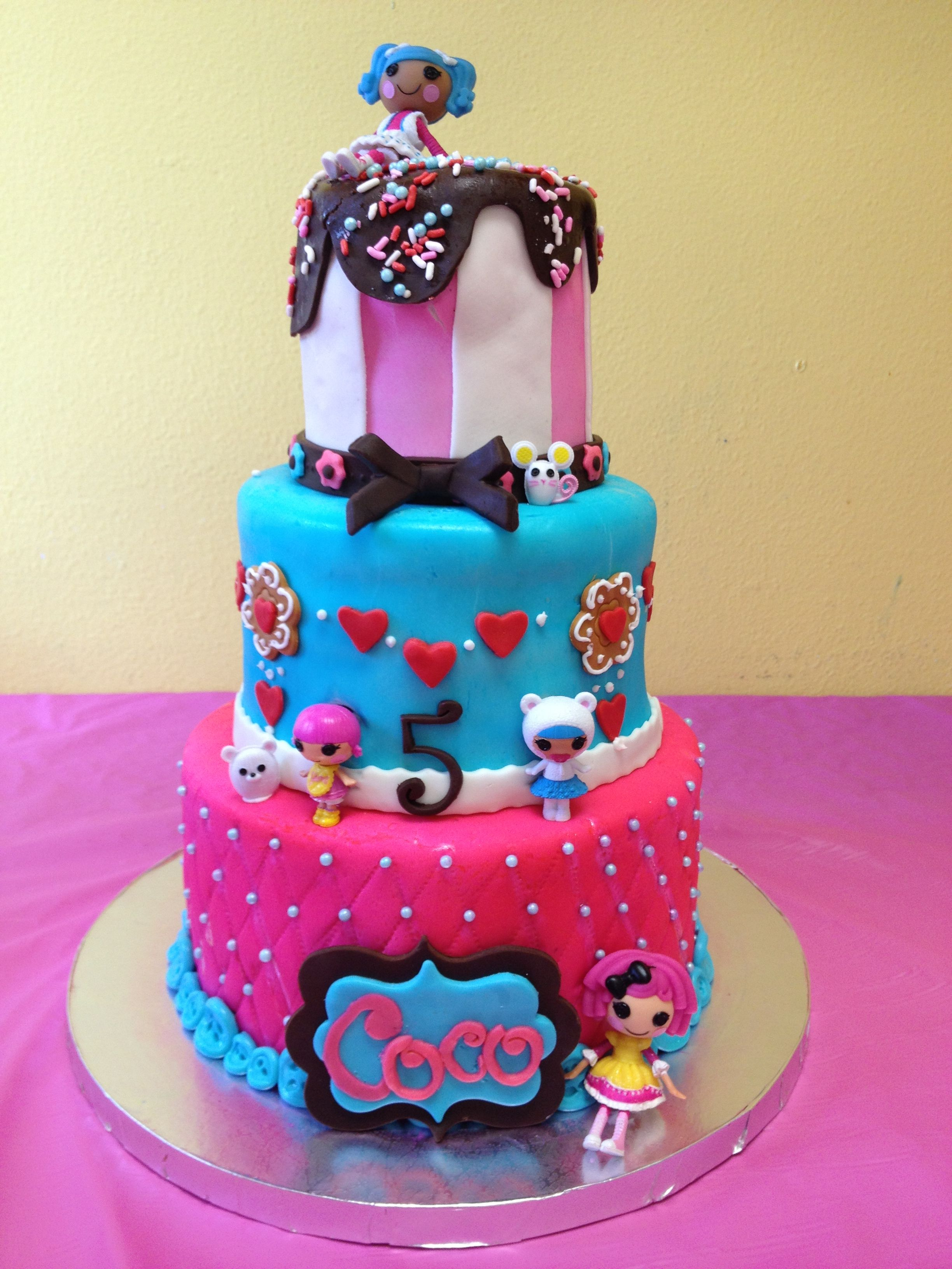 Lalaloopsy Cake Kakes By Kristen Birthday Cake Cake Lalaloopsy