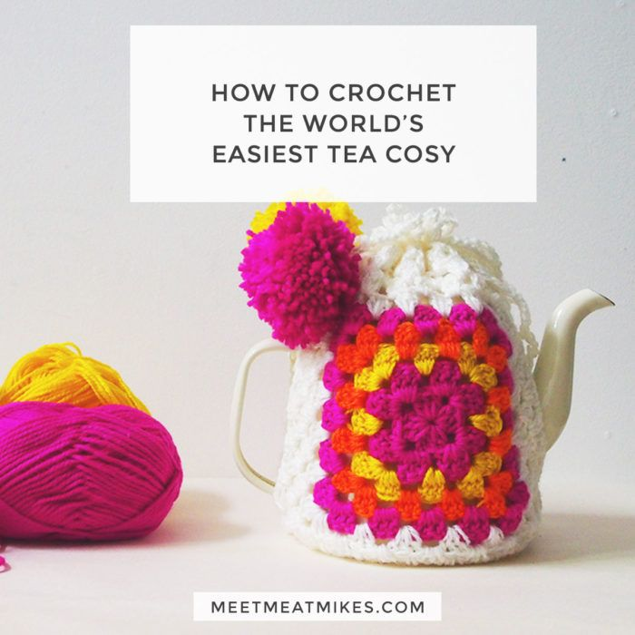 Crochet The World\'s Easiest Tea Cosy | projects | Pinterest