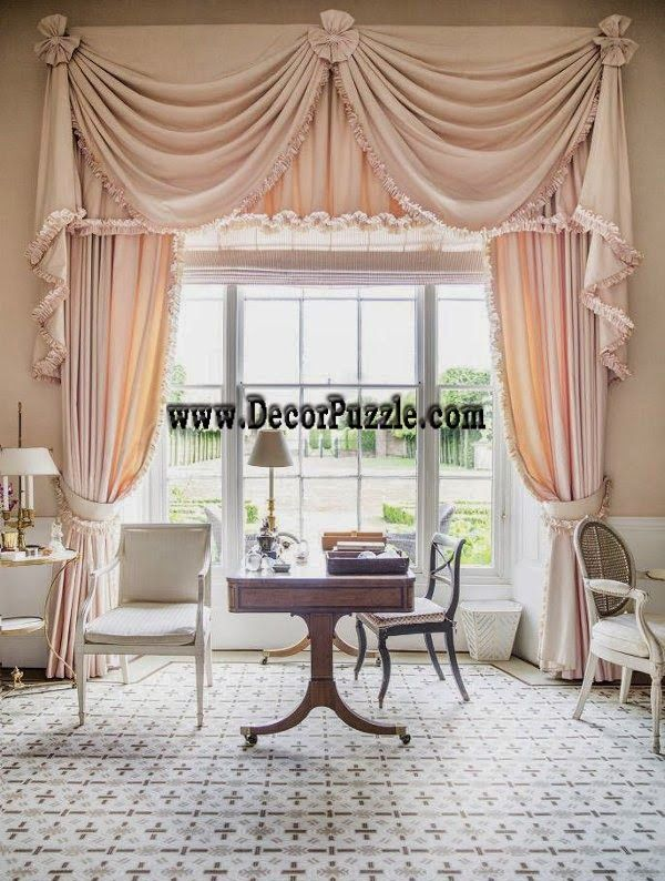 Classic Curtain Style 2015, Curtain Designs For Large Door
