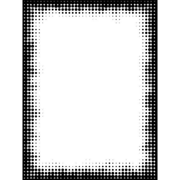Free Grayscale Mask ❤ liked on Polyvore featuring frames, borders and picture frame
