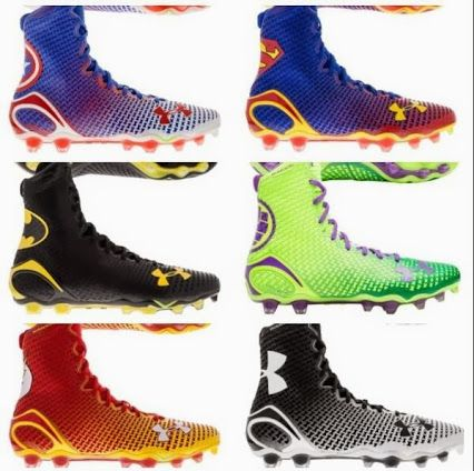 87311330cef67 Under Armour is now selling its superhero line of cleats.... underarmour