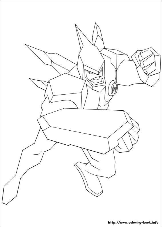 Nice Coloring Pages of Ben 10 Printable Book Pdf Online Ben 10 ... | 794x567