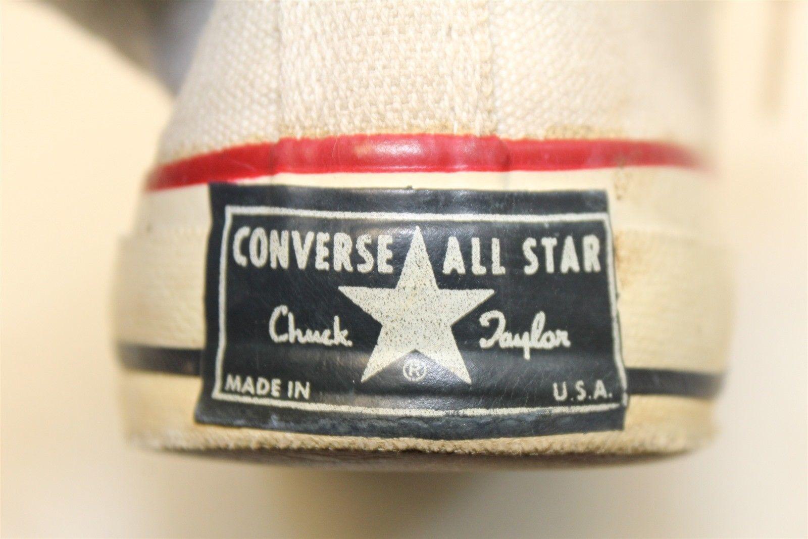 Vintage Converse All Star Chuck Taylor BLUE Label Men's 6