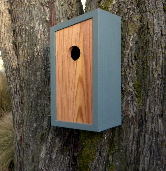 birdhouse modern minimalist the obtuse birdhouse birdhouse nistkasten v gel und. Black Bedroom Furniture Sets. Home Design Ideas