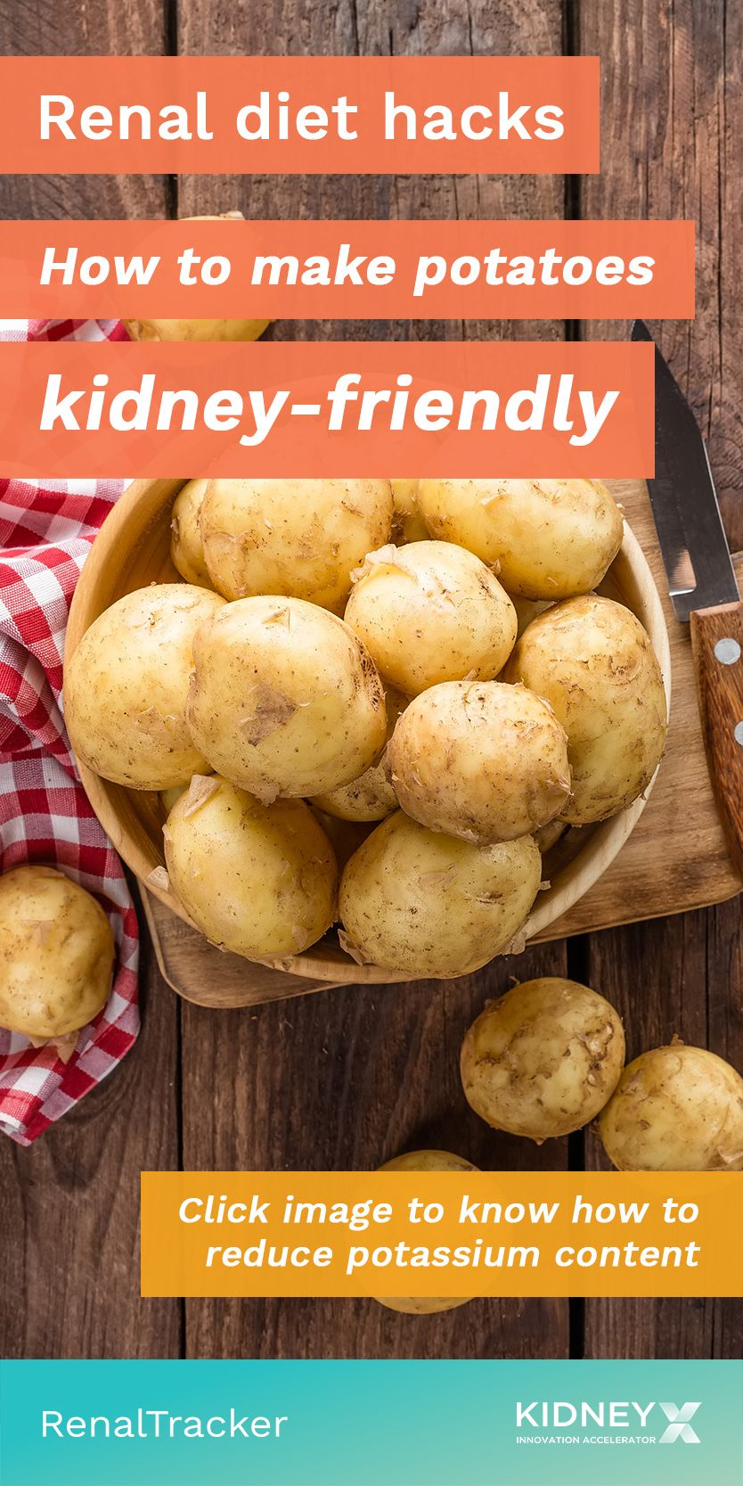 You don't have to remove high-potassium vegetables such as potatoes entirely f…