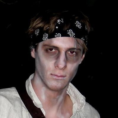 Ghost Pirate makeup | Halloween Ideas | Pinterest | Pirate makeup ...