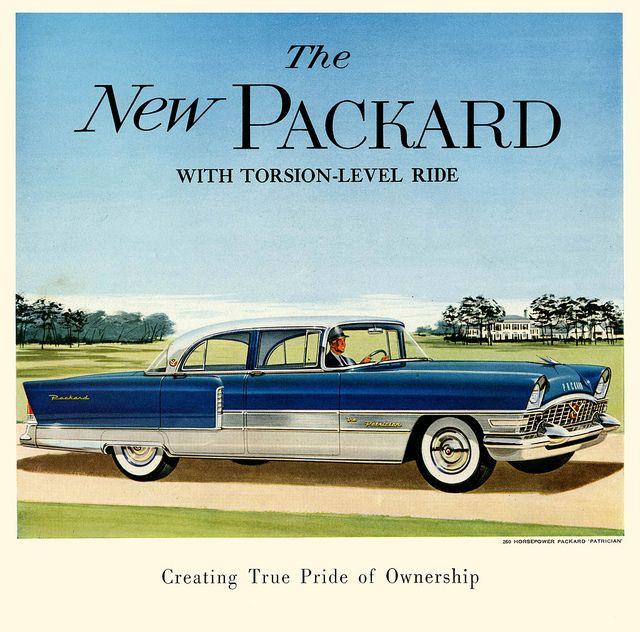 1955 Packard Patrician Packard Old Ads Packard Cars