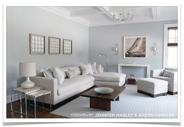 Mabley Handler Hamptons Living Room Paint Colour Calm