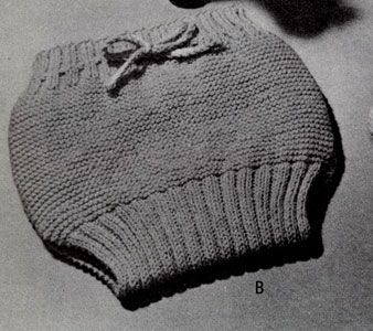 NEW! Soakers knit pattern from Handknits for Babies, Book No. 78.: