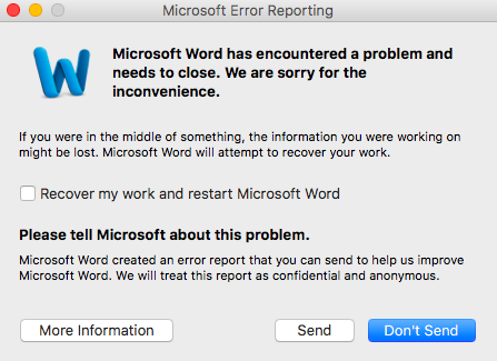 Why is Microsoft word not responding 18555502552 how to fix