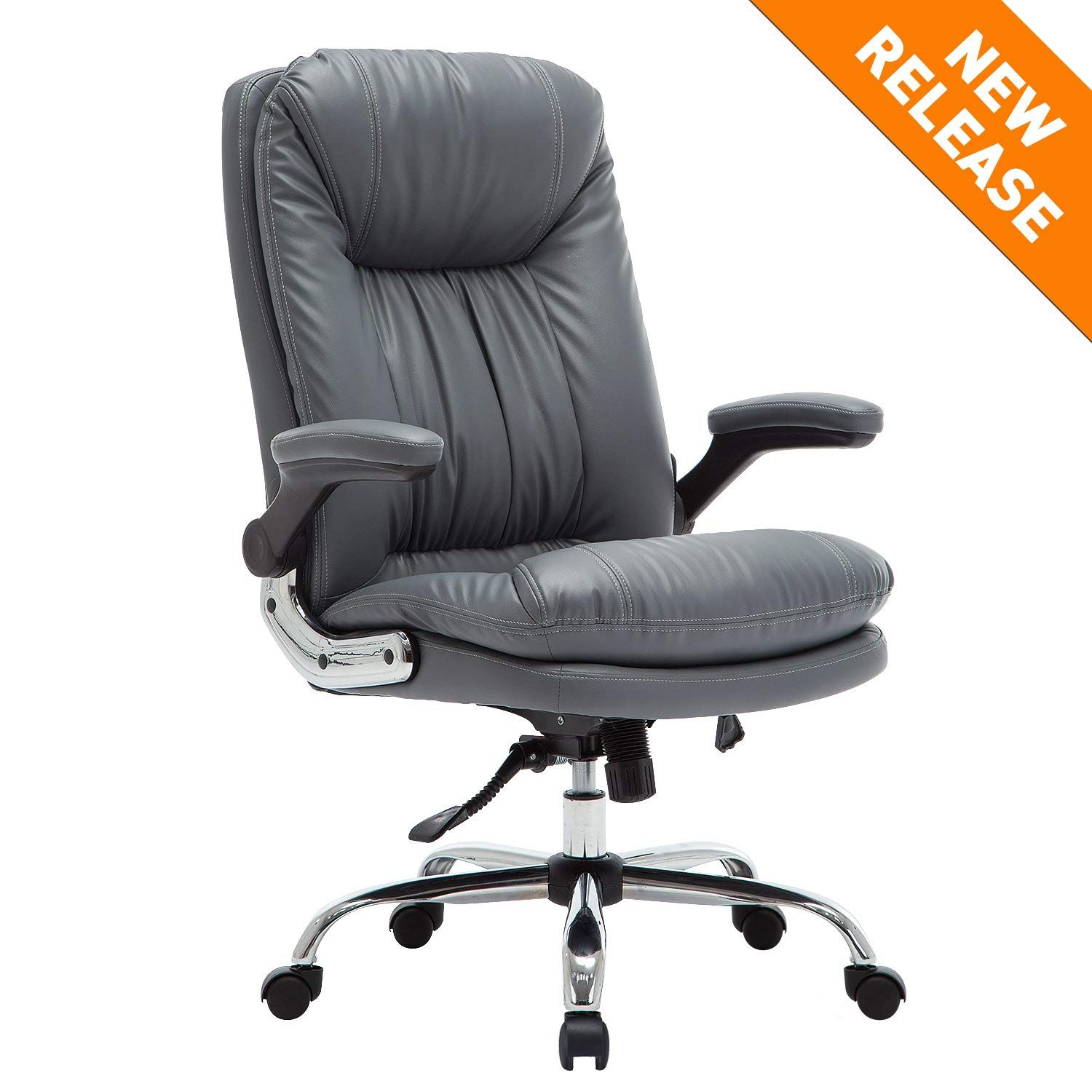 YAMASORO Ergonomic Office Chair with FlipUp Arms and
