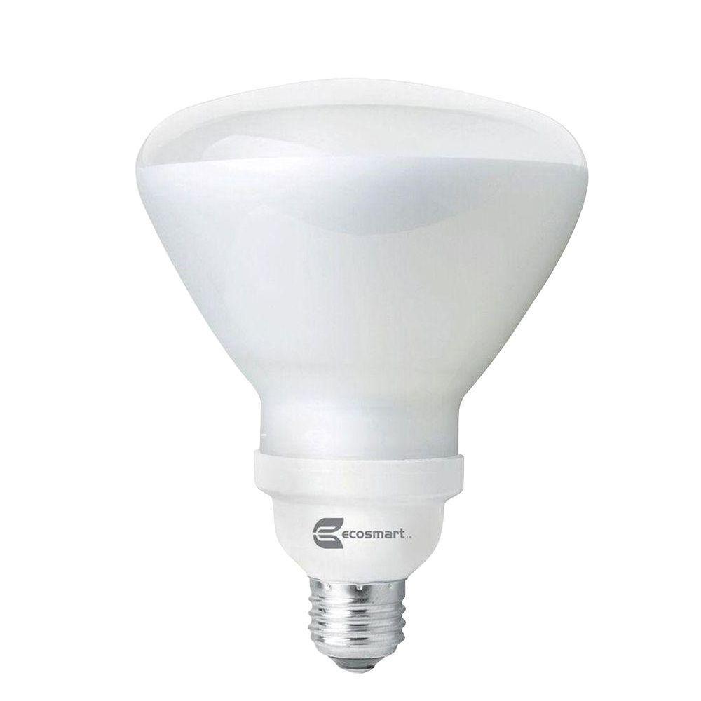 Ecosmart 120w Equivalent Soft White 2700k R40 Cfl Flood Light Bulb 4 Pack Flood Lights Light Bulb Bulb