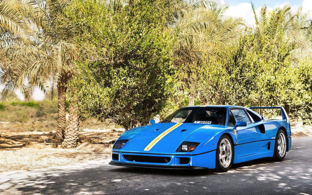 Azzurro Dino With Images Ferrari Used Cars Cars For Sale