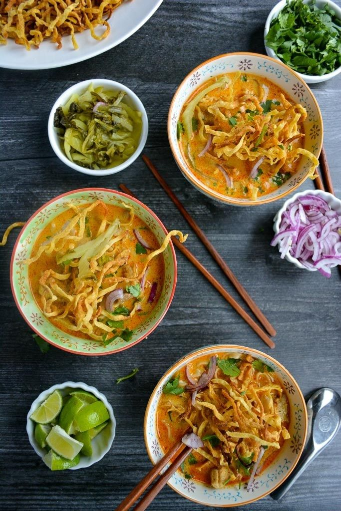 Khao Soi - Northern Thai Curry — Wanderings in My Kitchen