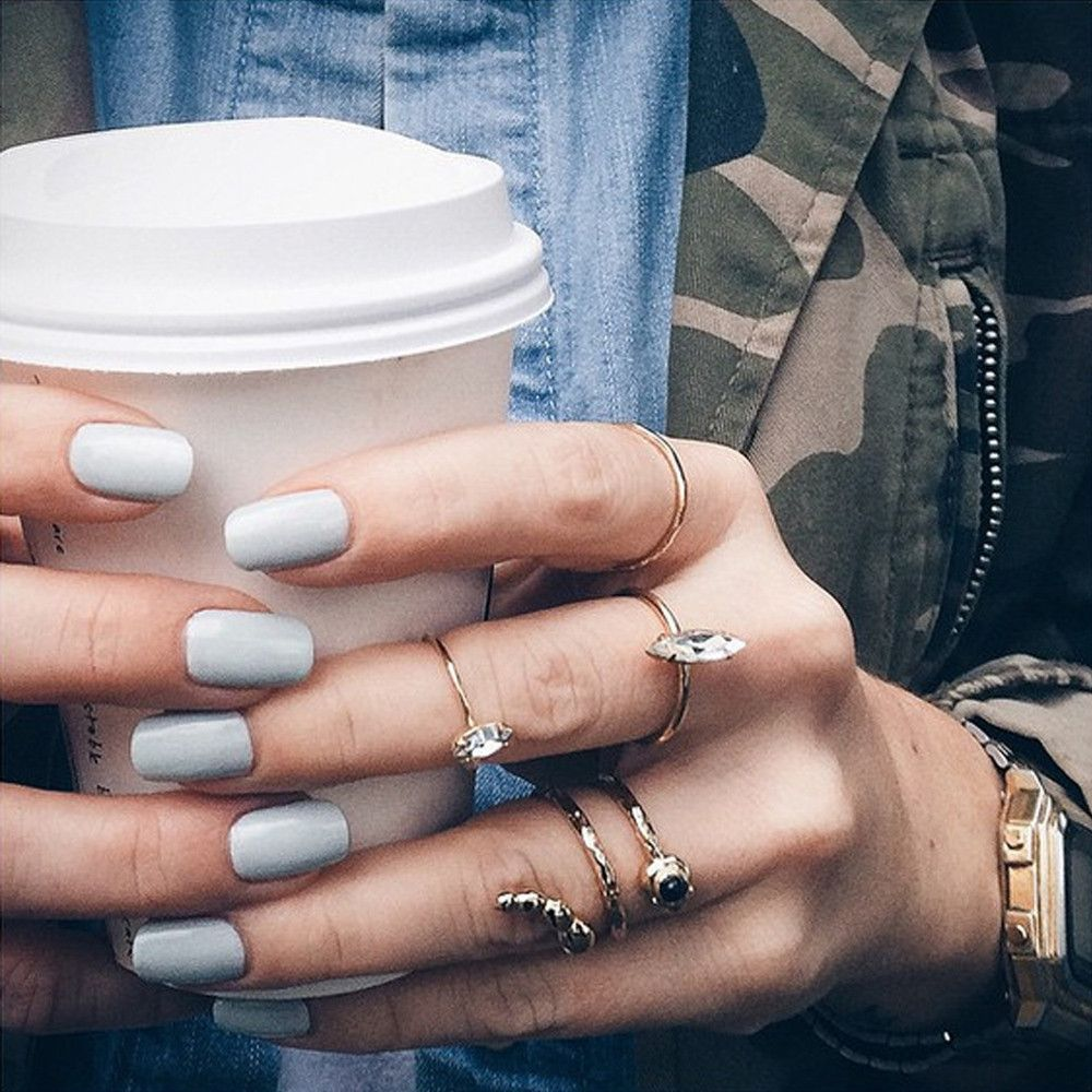 Crystal Shard Ring - Clear Crystal