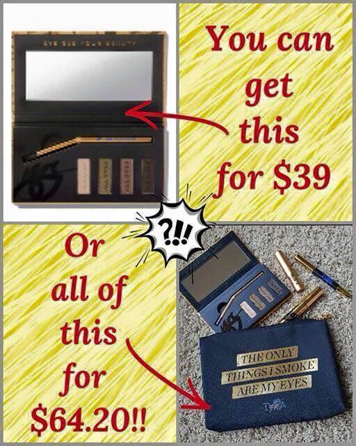 For new customers the mascara alone is $24 don't let this deal slip away order before the ned of November www.tyra.com/hcorgain