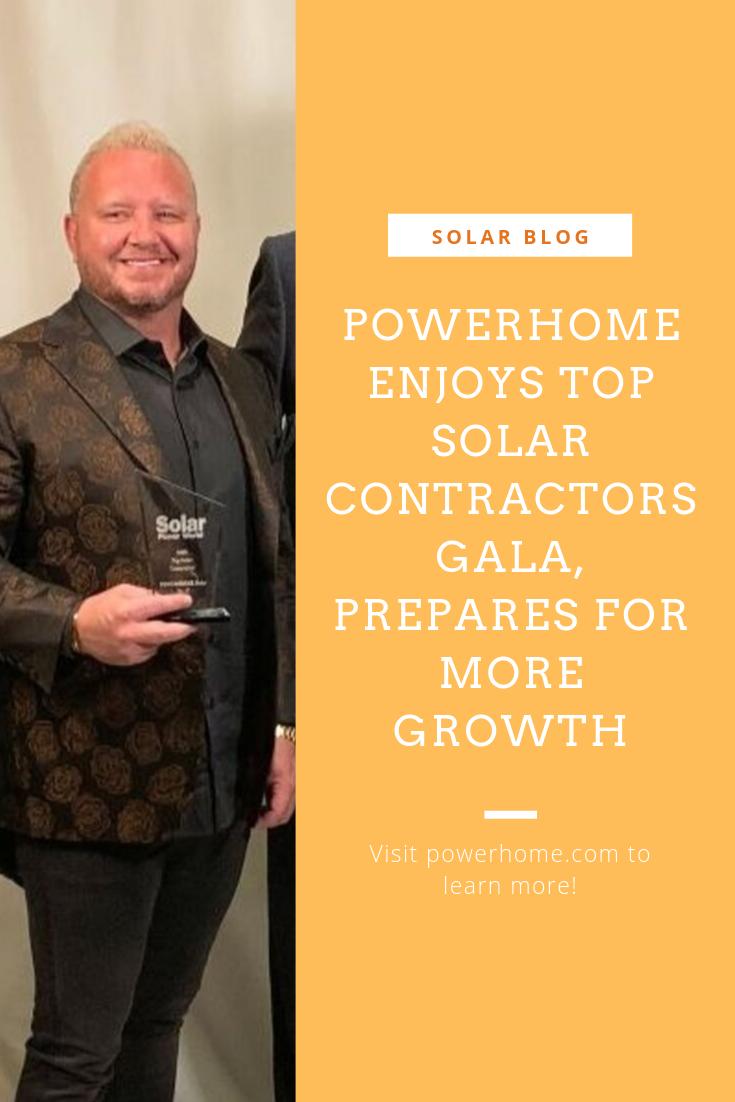 Top Solar Contractors Gala 2019 Solar News Energy News Solar