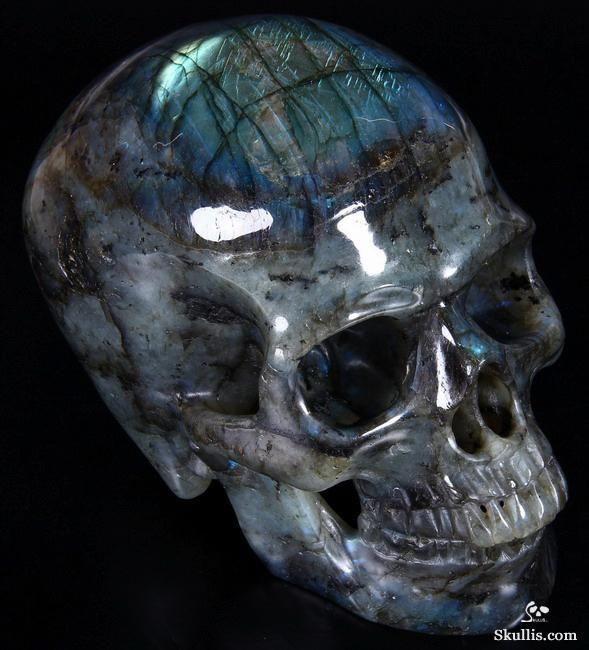 Labradorite Crystal Skull | Kristallschädel ...