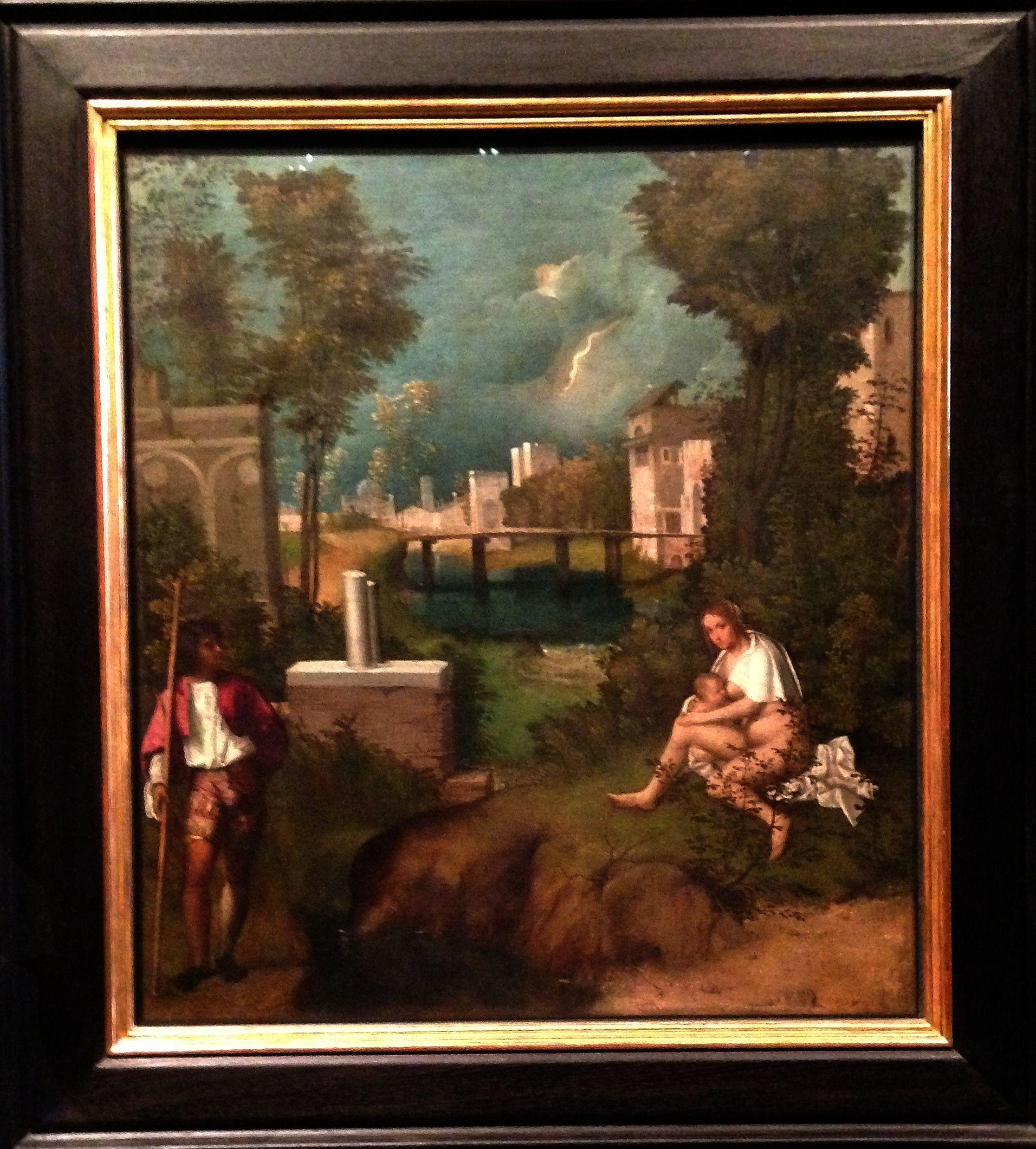 """""""La tempesta"""" - Giorgione"""