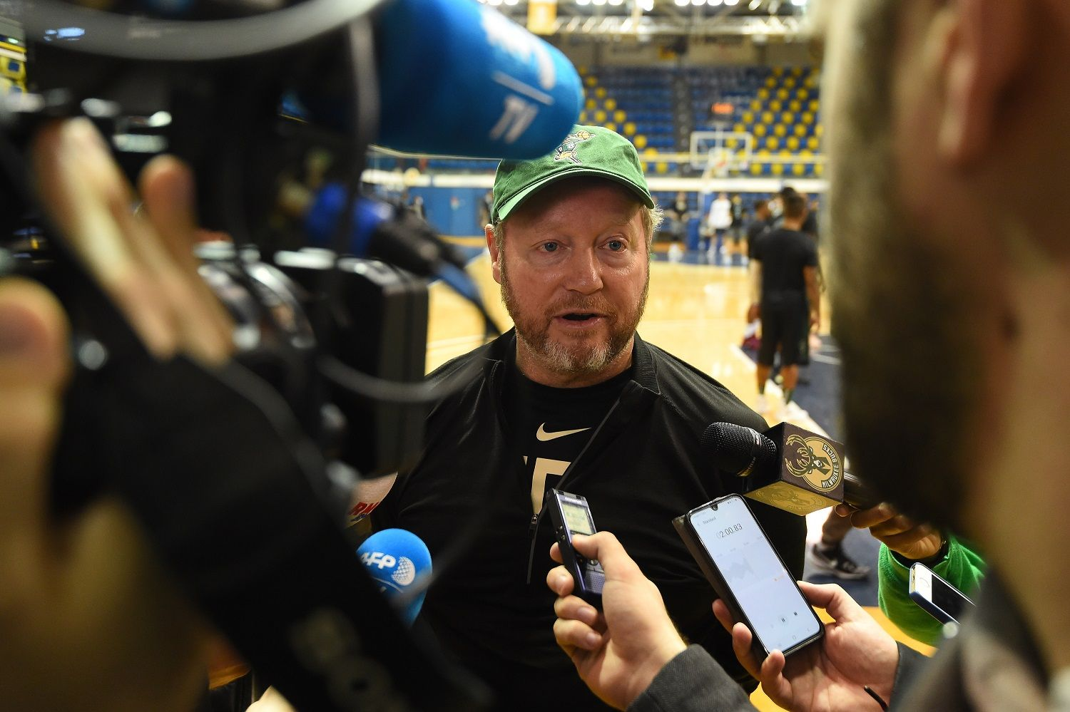 """Mike Budenholzer """"Any time you bring European players"""