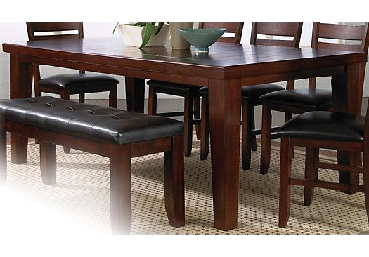 Shop For A Lake Tahoe Dining Table At Rooms To Go Find Dining Tables That Will Look G Dining Table In Kitchen Solid Wood Dining Set