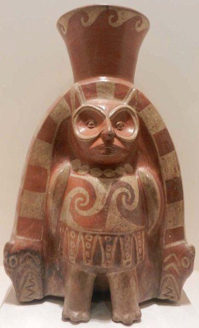 Moche owl god (1 - 800 CE), Peru