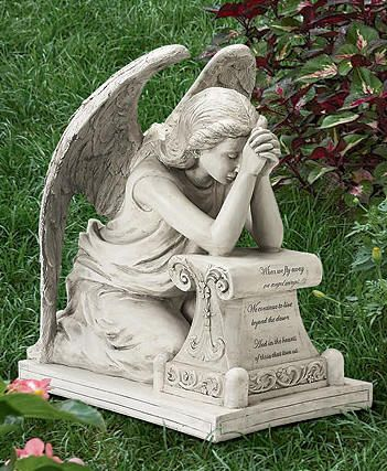 Garden Angels Statues Weeping Angel Statue Art Pinterest