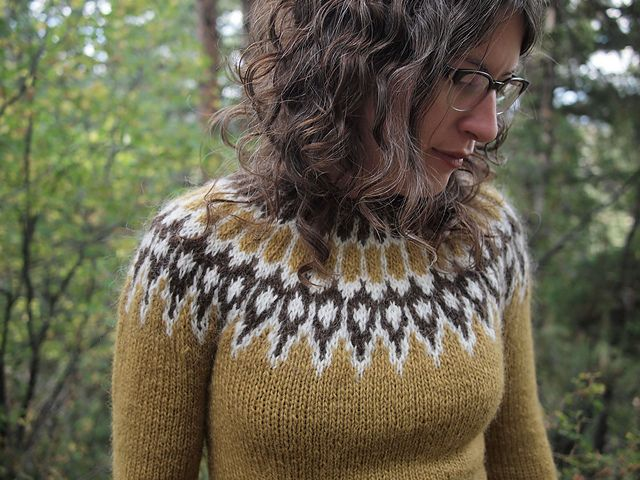 Free Pattern Icelandic Lopi Sweater Textiles Pinterest