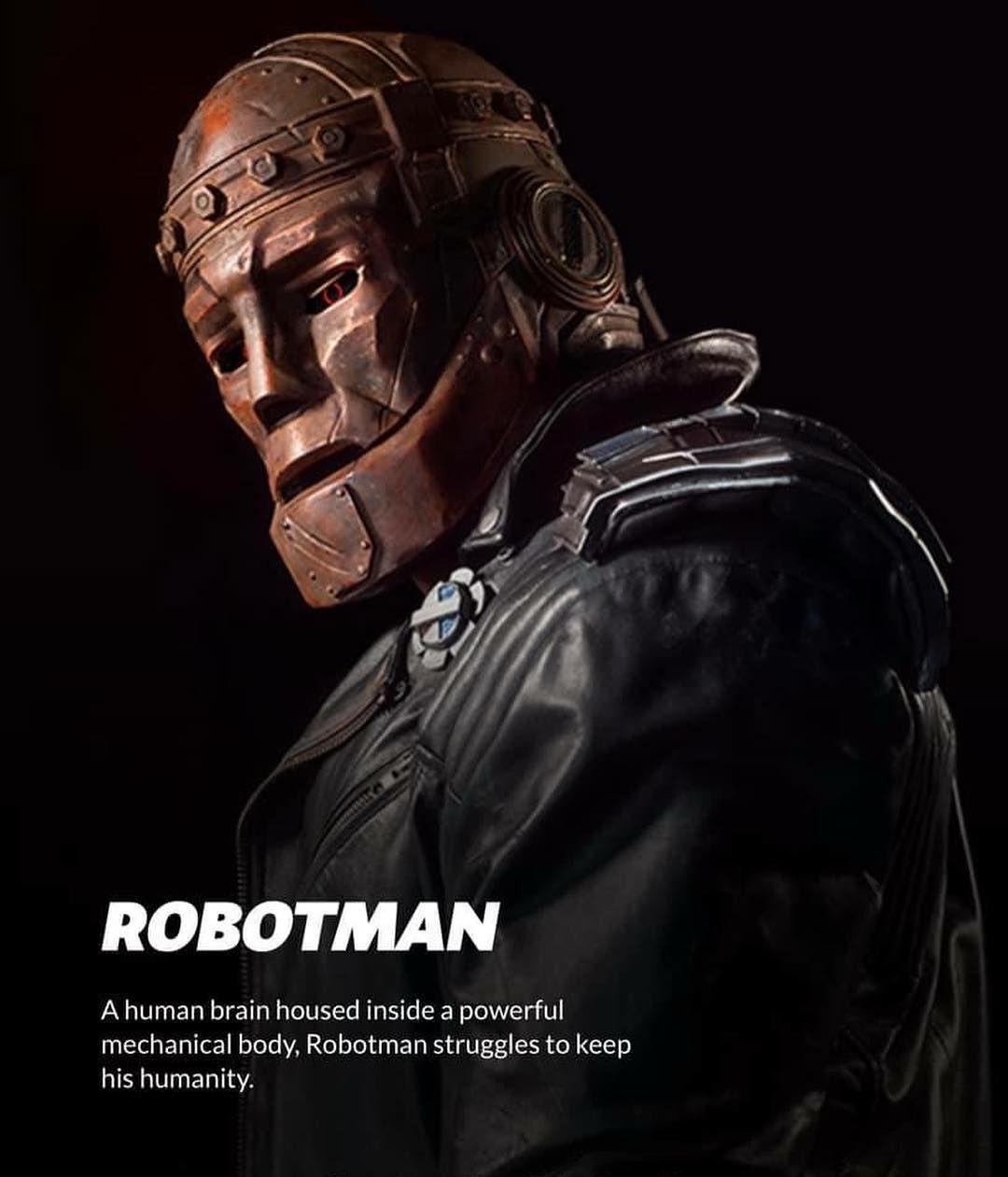 Robotman Doom Patrol Doom Patrol Doom Dc Comics Heroes