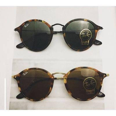 Óculos De Sol Rayban Ray Ban Fleck Rb2447 Redondo Original - R  150 ... 00ec3cda11