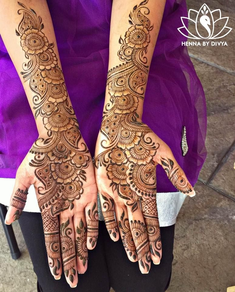 Arabic Simple Mehndi Design 2018 Latest Images Download