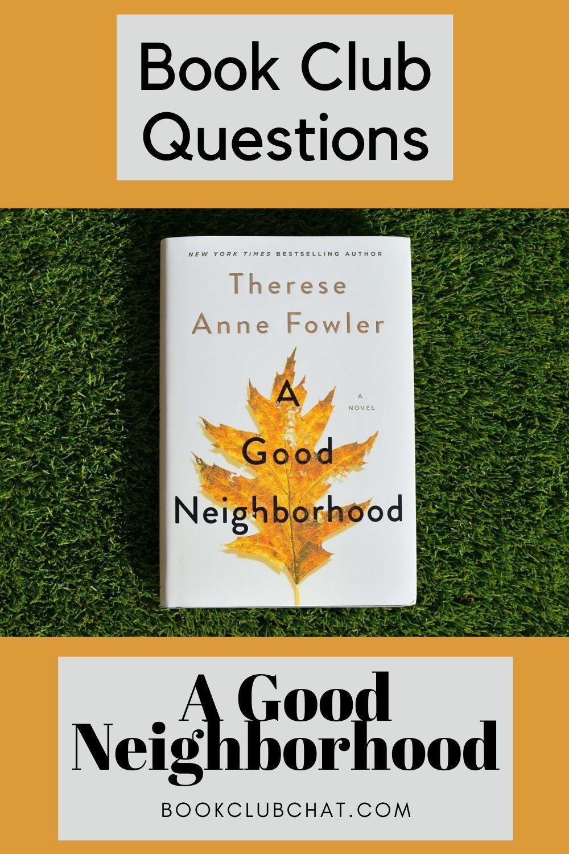 A Good Neighborhood Cover