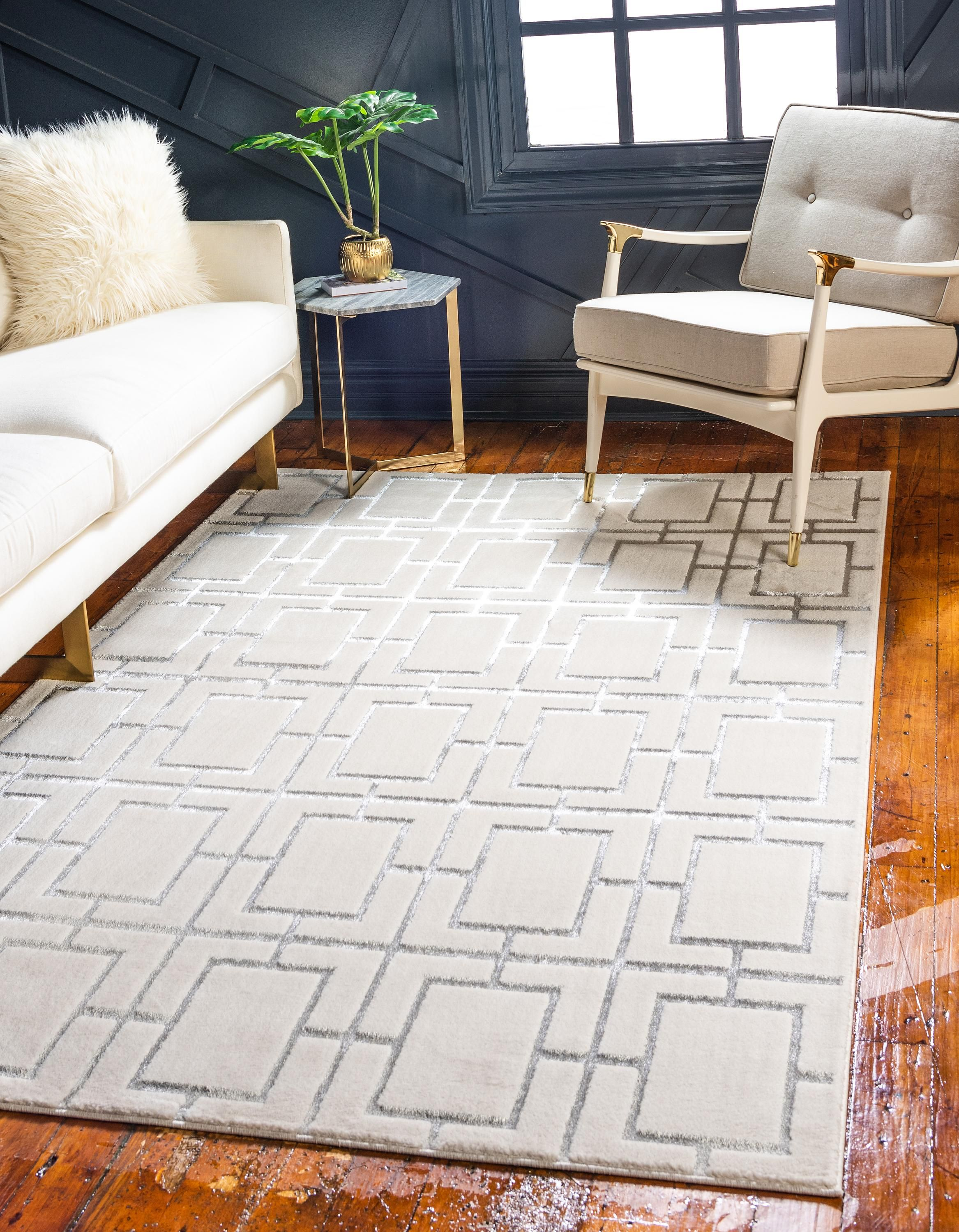 White Silver 152cm X 245cm Marilyn Monroe Glam Deco Rug Area Rugs Irugs Singapore Glam House Area Rugs Classic Rugs