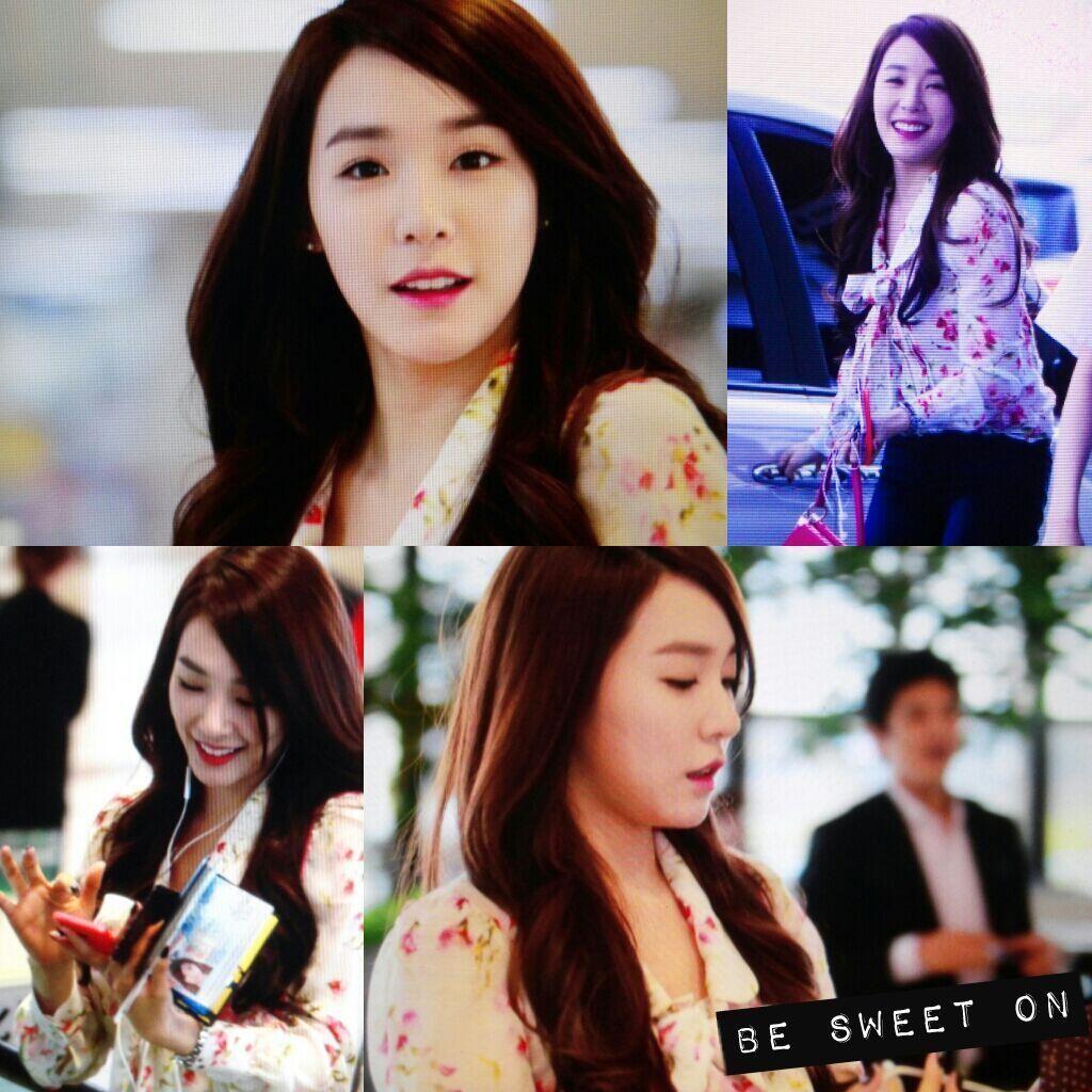 SNSD Tiffany Hwang airport may 2014