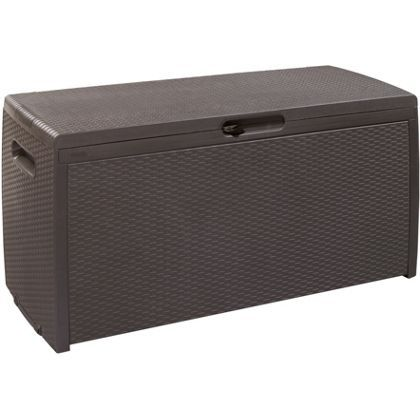 Keter Rattan Style Box Homebase - £60 from £80 | Garden Storage Box ...