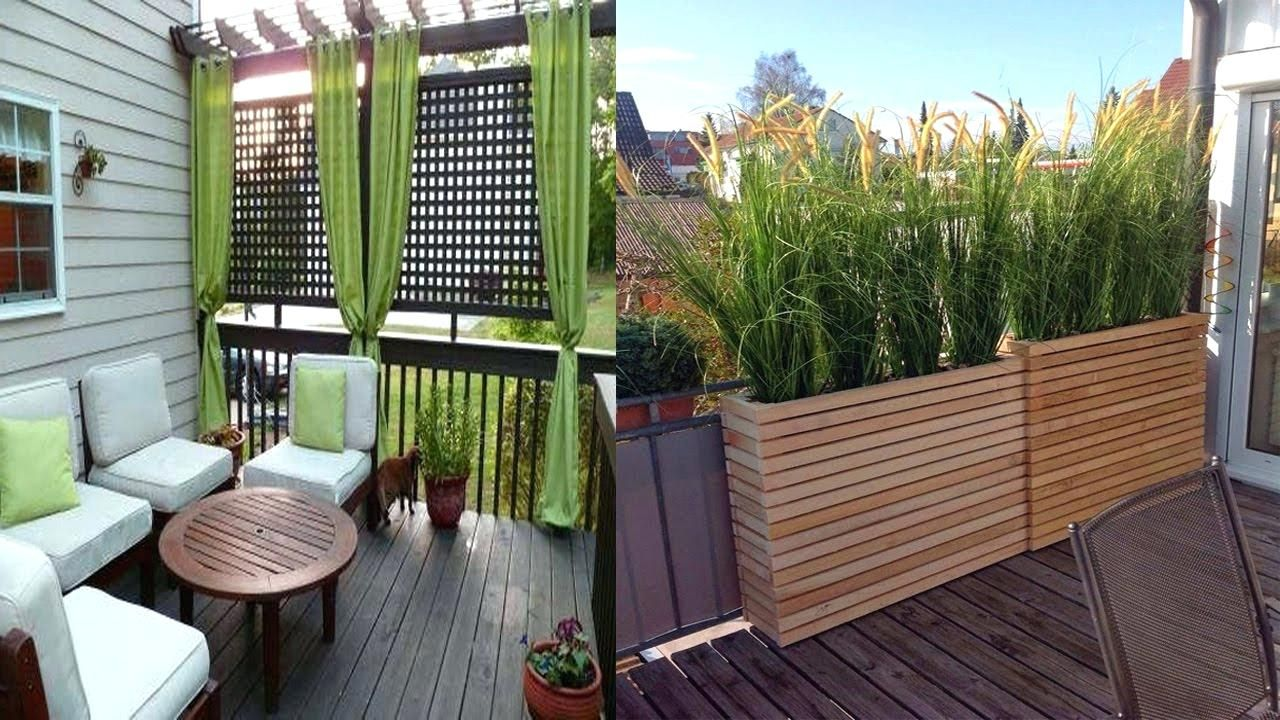 Marvelous Picture Of Patio Ideas Apartment Privacy Screen Inspiring Small Balcony