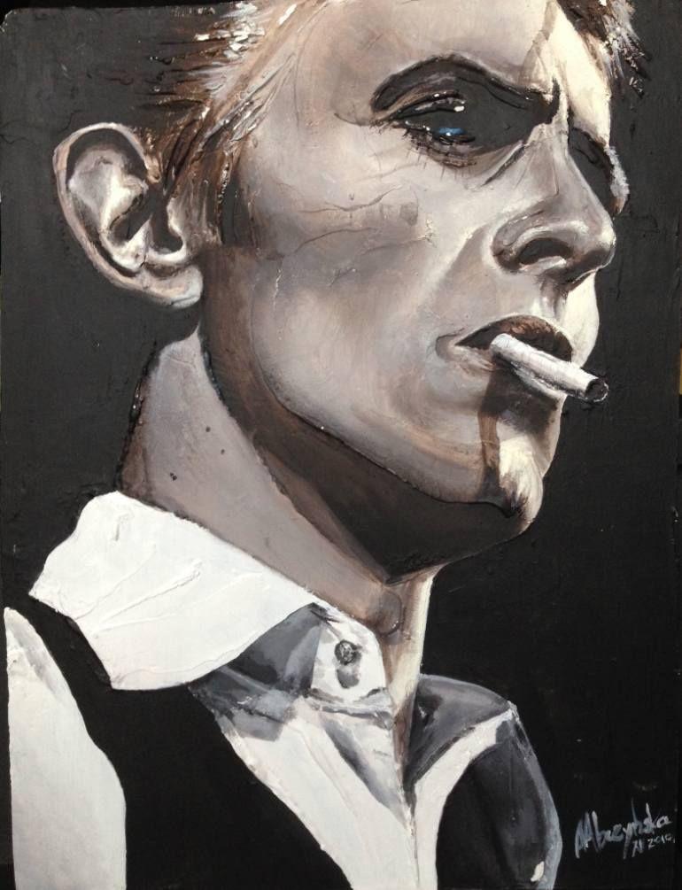 """Saatchi Art Artist Agnieszka Abczynska; Painting, """"David"""" #art"""
