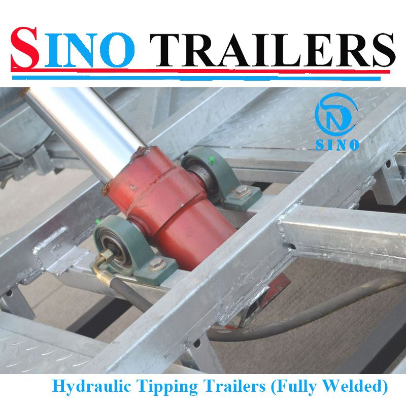 4 Stage Hydraulic Tipping Ram For Dump Trailer Utility Trailer Dump Trailers Tent Trailer