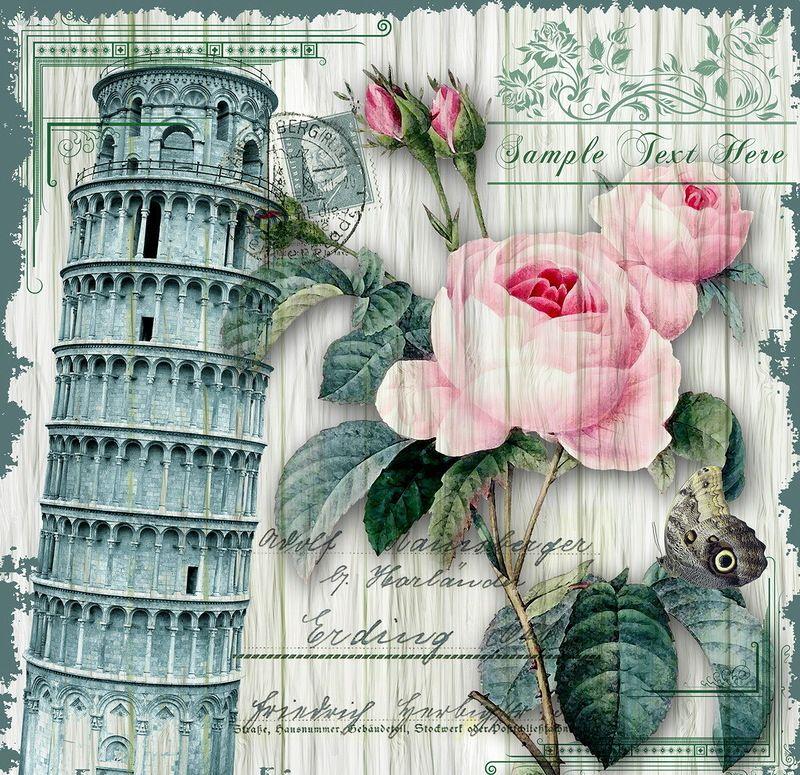 Винтажные картинки италии